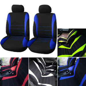 Auto Car Seat Covers For Car Truck Suv Van Universal Protectors Polyester