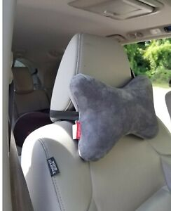 Gray Memory Foam Car Auto Seat Head Rest Support Pillow Neck Pain Relief Cushion