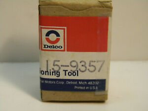 Vintage Auto Air Conditioner Tool Ac Delco 15 9357 Gm High Side Straight Adapt