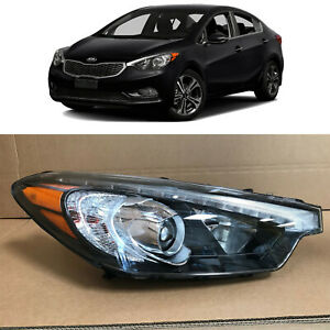 Headlight Replacement For 2014 2015 2016 Kia Forte Forte5 Koup Passenger W Led