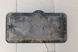 Oil Pan For David Brown 990 Tractor Includes Plug Used Dented