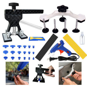 46pcs Paintless Car Hail Damage Dent Remover Repair Kit Auto Dent Puller Tools