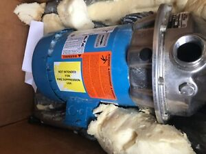 G l Gould Npe Centrifugal Pump 1 2 Hp Stainless 1st1c5f4c Emerson Bv20a New