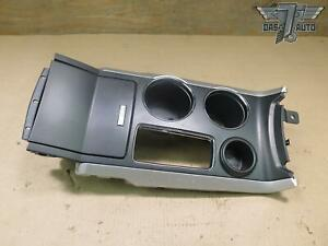 11 15 Ford Explorer Front Center Console Trim W Cup Holder Storage Oem