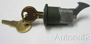 Ford Willys Jeep Truck Tool Box Glove Lock With 2 Keys Original Wwii