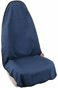 Waterproof Towel Bucket Seat Cover For Car Front Seat Blue For Surfing beach