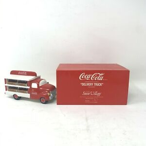 Dept 56 Snow Village Coca-Cola® Brand Delivery Truck (1994-1998) Rare Retired