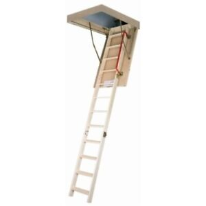 Fakro Lws pl 66853 Insulated Attic Ladder For 22 inch X 54 inch Rough Openings