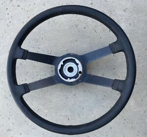 Nice Porsche 914 Imitation Leather Steering Wheel German Vdm Foam 1974 1975 1976