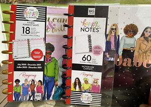 Lot The Happy Planner 18 Month Fitness Planner And 60 Page Notebook New