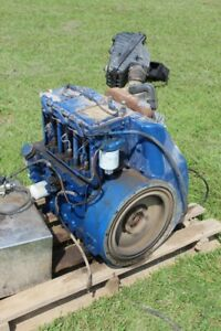 Lister Ts3 Diesel Engine 3 Cylinder 31hp Used Runs Good