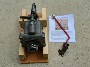 Ford 8n Tractor A 101 Sherman Transmission Step Up