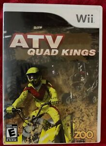 ATV: Quad Kings - Nintendo Wii - Game  case  and manual