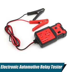 Electronic Automotive Relay Tester Fast Test Tool Detector With Indicator Light