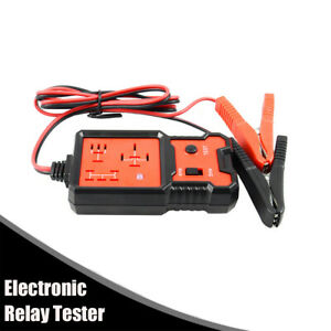 12v Auto Car Relay Tester Relay Testing Tool Battery Checker With Led Indicator