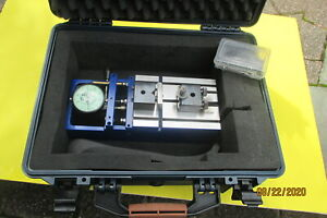 Precision Gage Vari roll Composite Gear Tester In Padded Case