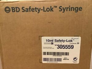 Bd 10 Ml Safety Luer Lok 305559 40 Count