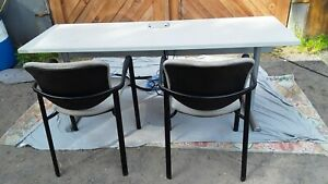 Office classroom Computer Tables Chairs With Extras