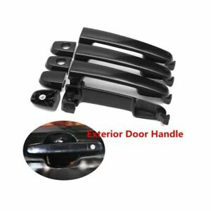 Front Rear Left Right Door Handle Set Of 4 For Toyota Corolla Matrix 03 08