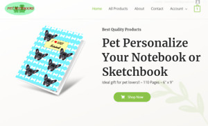Pet Gift Products Turnkey Dropshipping Business Website Fully Stocked