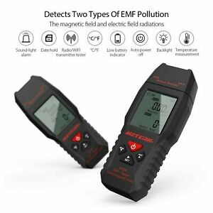 2in1 Electric magnetic Electromagnetic Field Radiation Detector Emf Tester P3c5