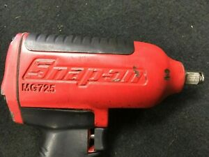 Snap On 1 2 Drive Super Duty Impact Wrench Mg725 Red