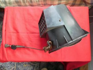 1966 Plymouth Belvedere Satellite L Vent Chimney Box With Cable Gasket nice