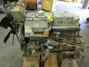 International Dt466e 195hp Electronic Tested Diesel Engine