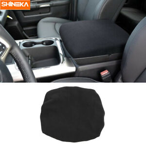 Center Console Armrest Soft Pad Protector Cover For 2010 2020 Dodge Ram 1500