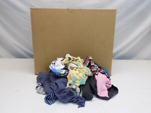 Box Of Colored Rags 25lb