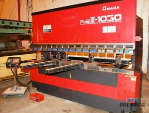 Amada Fbd 1030ldr 110 Ton X 10 Cnc Up acting Press Brake 30070