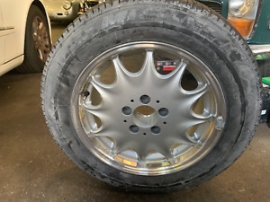 Tire And Rim Together For 1996 1998 Mercedes Sl 320 Sl 500 Sl 600