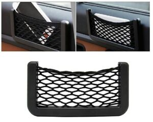 2ps Universal Car Storage Net String Pouch Bag Gps Phone Holder Pocket Organizer
