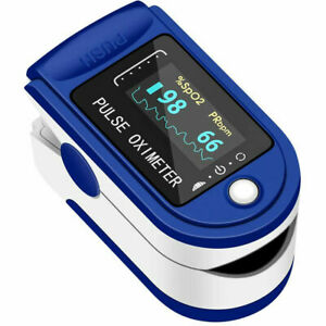 New Pulse Fingertip Oximeter Blood Oxygen Spo2 Monitor Pr Pi Heart Rate Fda Ce