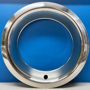 One Single 1515d3 Chevy Gm 3 Depth Steel Rally Wheel 15 Trim Ring Beauty Ring