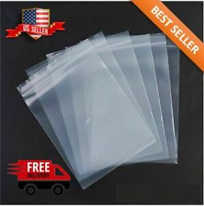 2 x 3 Clear 2 Mil Zip Lock Bags Poly Plastic Reclosable Seal Mini Small Baggies