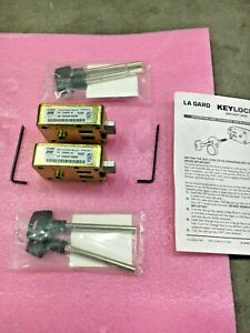 Lot Of 2 Sets Lagard 2200 Security Locks With 2 X 75mm Keys P n 22000000 03