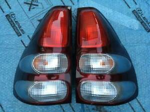 Jdm Toyota Land Cruiser Prado Rzj120w Taillights Tail Lights Lamps Set Oem