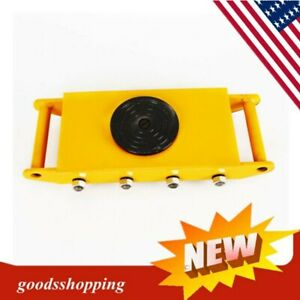 12t 26400lbs 360 industrial Heavy Duty Machine Dolly Skate Roller Machinery Move