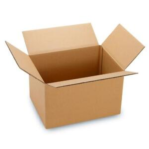 100 6x4x4 Packing Mailing Moving Shipping Boxes Corrugated Carton