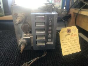 1960 Mercury Am Push Button Radio