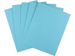 Myofficeinnovations Brights Colored Paper 8 1 2 X 11 Blue 500 ream 490955