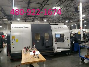 2008 Nakamura tome Super Ntx Cnc Lathe Dual Turret Y axis Sub Spindle