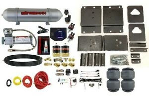 Air Tow Assist Load Level Kit No Drill Fits 2007 2020 Toyota Tundra 2wd 4wd