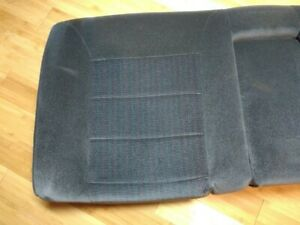 Vw Mk2 85 92 Blue Stripe Gli Cloth Jetta Rear Upper Seat Oem