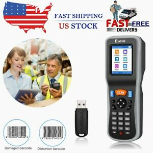 2 4g Wireless Barcode Scanner Data Collector Inventory Counter For Warehouse Use