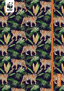 Wwf Tigers Weekly Academic Planner 2021 5 75 X 8 25 Flexi Cover