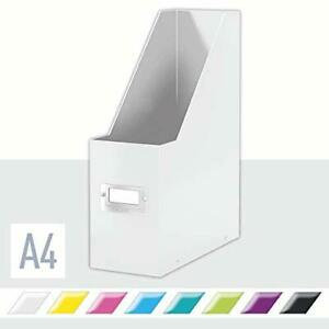 Leitz Magazine File A4 Click And Store Range 60470001 White From Japan