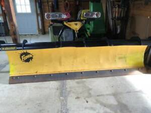 Fisher Hd 9 Ft Snow Plow Complete