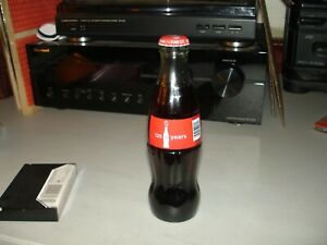 Coca Cola 125 Years Bottle  2011  Unopened And Full Bottle